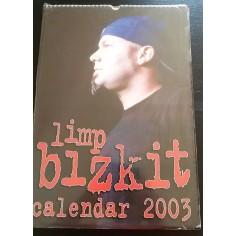 Calendrier vintage Limp Bizkit 2003