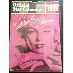 Calendrier vintage Marilyn Monroe 1998