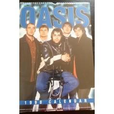 Calendrier vintage Oasis 1998