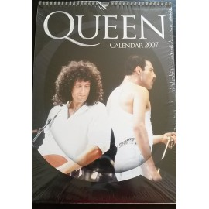 Calendrier vintage Queen 2007