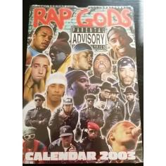 Calendrier vintage Rap Gods 2003