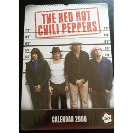 Calendrier vintage Red Hot Chili Peppers 2006