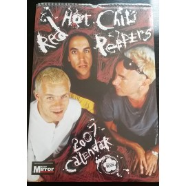 Calendrier vintage Red Hot Chili Peppers 2007