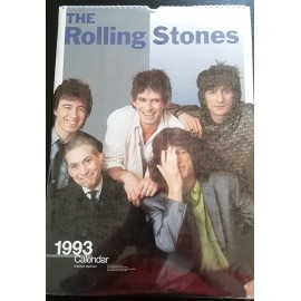Calendrier vintage Rolling Stones 1993