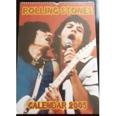 Calendrier vintage Rolling Stones 2003
