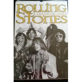 Calendrier vintage Rolling Stones 2004