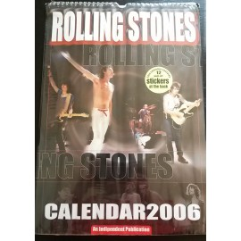 Calendrier vintage Rolling Stones 2006