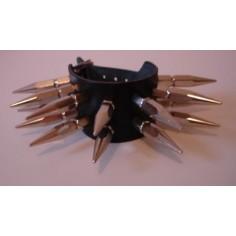 Bracelet Spikes 2 rangs