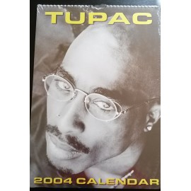 Calendrier vintage Tupac 2004