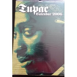 Calendrier vintage Tupac 2006