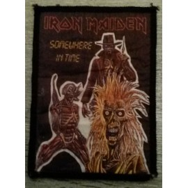 Ecusson Iron Maiden - Somewhere in Time