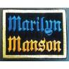Ecusson Marilyn Manson