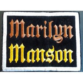 Patch Marilyn Manson