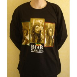 T-shirt Bob Marley [long sleeves]