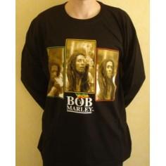 T shirt Bob Marley [manches longues]