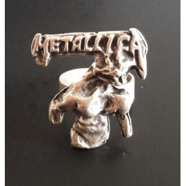 Adjustable ring Metallica - Jump in the fire