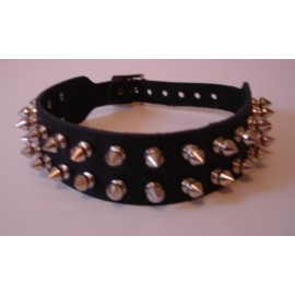 Collier Spikes 2 rangs