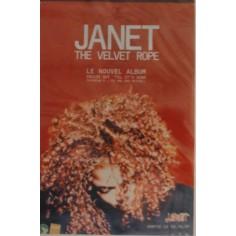 Affiche Janet Jackson - The velvet rope