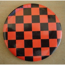 Miror checkerboard black & red