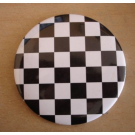 Miror checkerboard black & white