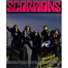 Scorpions - Savage Amusement world tour