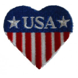 Patch Flag USA heart