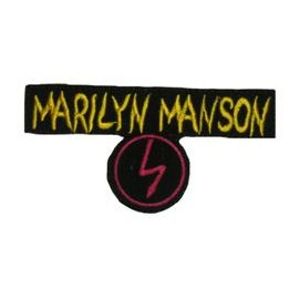 Ecusson Marilyn Manson - Antichrist superstar