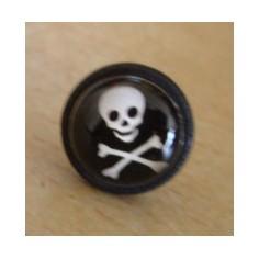 Ear ring Skull