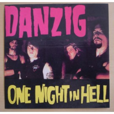 Sticker Danzig - One Night in Hell