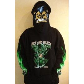 Sweat shirt Skull - Nice & Sleazy
