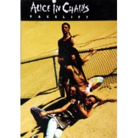 Postcard Alice in Chains - Face lift