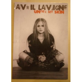 Postcard Avril Lavigne - Under my skin