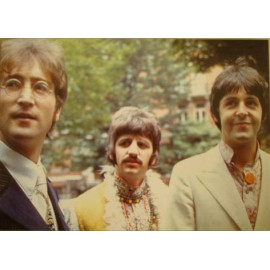 Carte postale Beatles