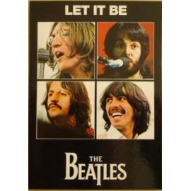 Carte postale Beatles - Let it be