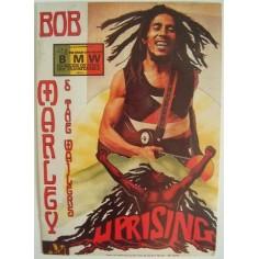 Postcard Bob Marley - Uprising