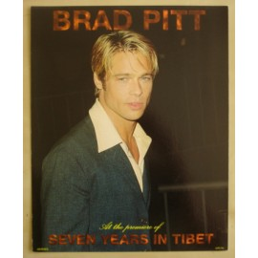 Postcard Brad Pitt (giant)