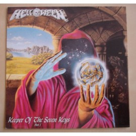 Sticker Helloween - Keeper of the seven keys