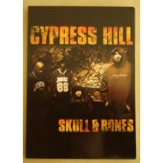 Postcard Cypress Hill - Skull & bones