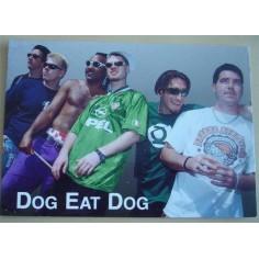 Postcard Dog Eat Dog