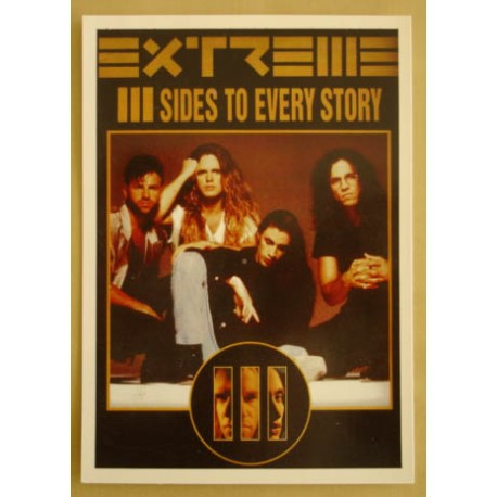 Postcard Extreme - III Sides to every story