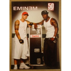 Carte postale Eminem & 50 Cent