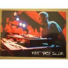 Postcard Fat Boy Slim