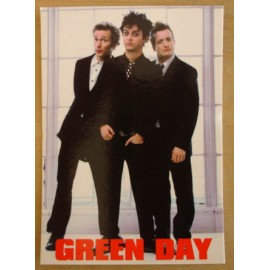 Carte postale Green Day