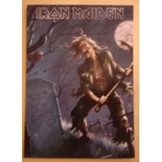 Carte postale Iron Maiden - The reincarnation of Benjamin Breeg