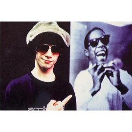 Postcard Jamiroquai & Stevie Wonder