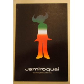 Postcard Jamiroquai - Travelling without moving