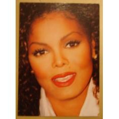Postcard Janet Jackson