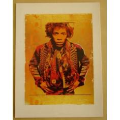 Postcard Jimi Hendrix