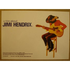 Postcard Jimi Hendrix - A film about
