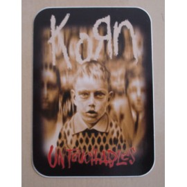 Sticker KoRn - Untouchables